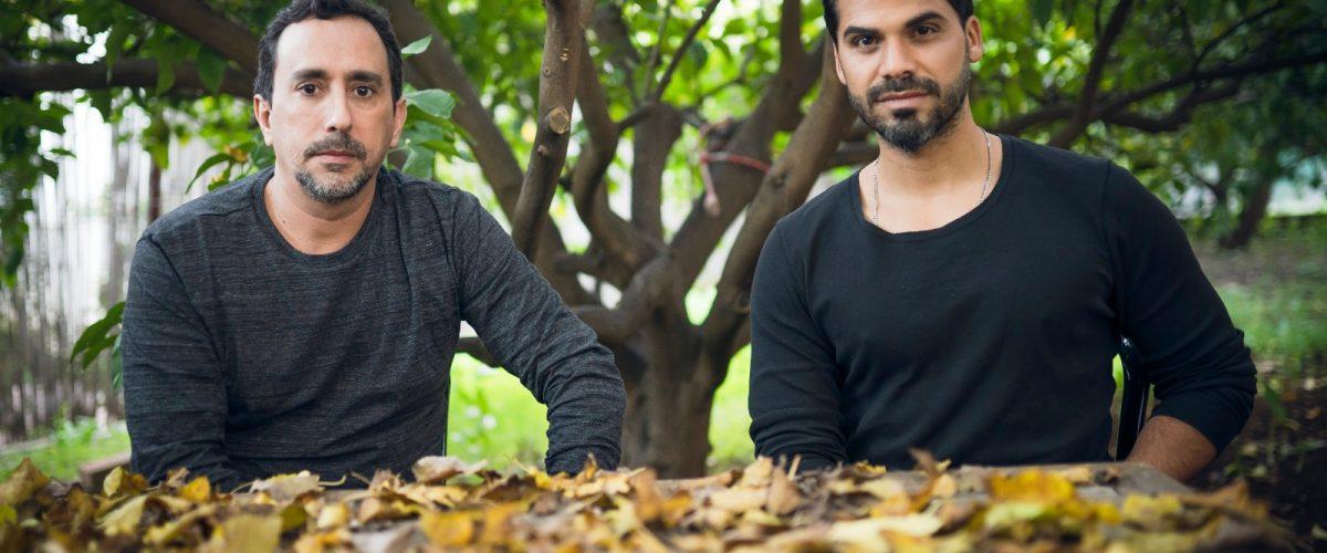 ליאור אלמליח ואוריאל שי (צילום: דניאל דהן)