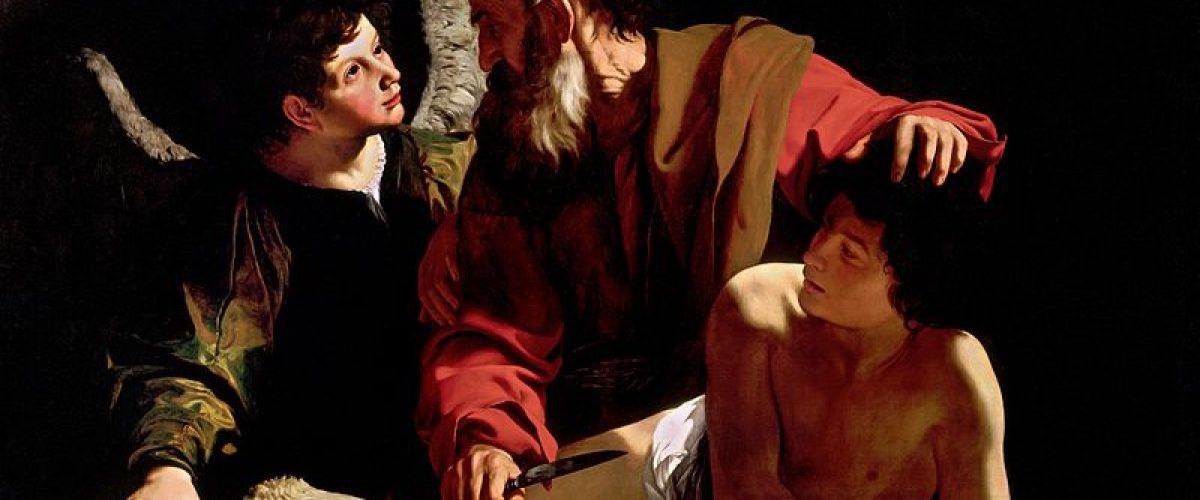 עקדת יצחק (ציור מאת קאראווג'ו (1603) ויקיפדיה)