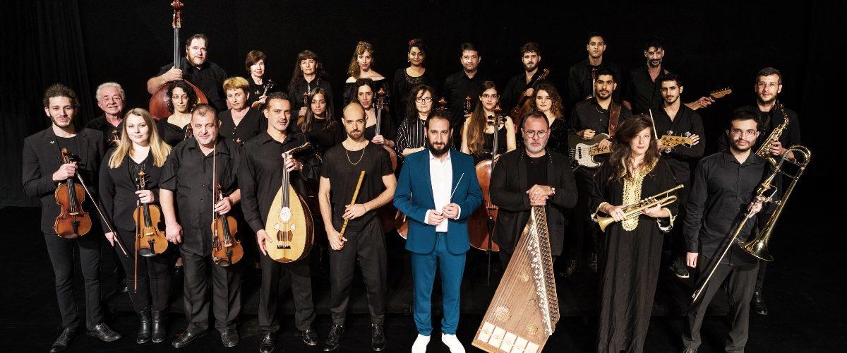 תזמורת 'ירושלים מזרח מערב' (צילום: חיים יפים ברבלט)