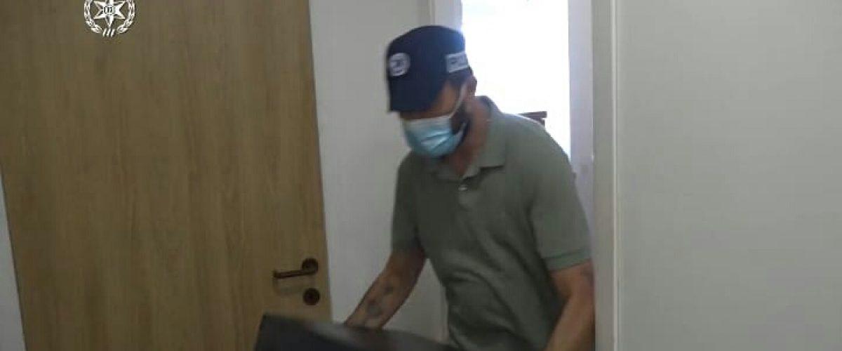 צילום מתוך סרטון שפרסמה המשטרה