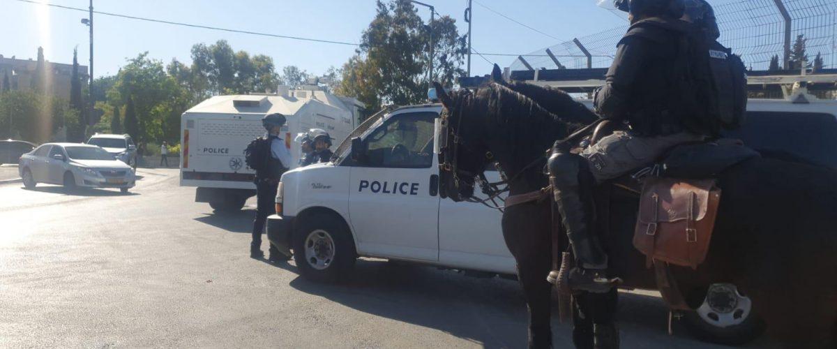 ידי המשטרה עמוסות מאוד בימים אלה. מתי יסתיים הסיוט?  (צילום: דוברות המשטרה)